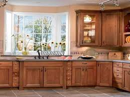 Simple Kitchen Simple Kitchen Cabinets Design With Glass Windows 7652
