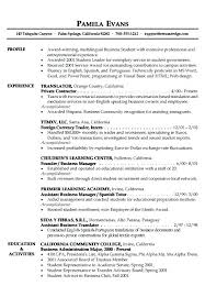 Personal Statement On Resume Fascinating Inspiration 44 Business Personal Statement Examples Resume Profile