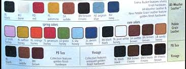 Dooney And Bourke Color Chart Vintage Dooney And Bourke Bag Colors