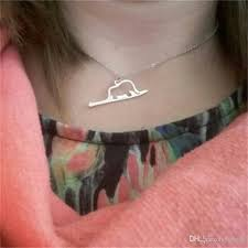 whole hollow little prince outline necklace animal good lucky origami elephant in a snake necklaces for women child present birthday gold circle pendant