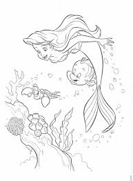 Small Picture Colouring The Little Mermaid Coloring Pages Pages Coloring Disney