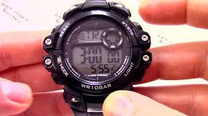 <b>Часы</b> Q&Q M151-003 [M151 J003] - Инструкция, как настроить от ...