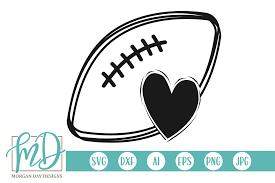 Football Svg Designs Football Svg By Morgan Day Designs Thehungryjpeg Com