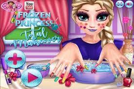 princess total makeover games play
