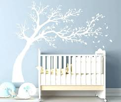 black tree wall decal colors for nursery also in conjunction with brown decals white o