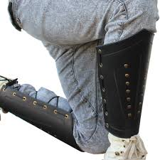 rangers studded leather greaves