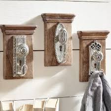 unlock the secret to charming eclectic decor with the vintage doorknob wall hooks each decorative wall hook resembles an silver antique doorknob
