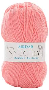 Sirdar Snuggly Dk Double Knitting 50g Pretty Coral 456