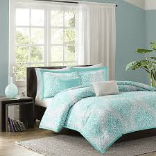 modern chic light blue aqua grey white