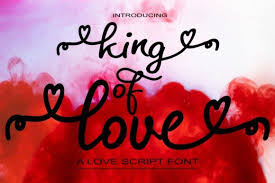 Svg wave is a minimal svg wave generator with lot of customization. King Of Love Font By Bot Kerling Creative Fabrica In 2020 Free Script Fonts New Fonts Modern Calligraphy Fonts