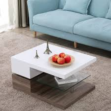 bent glass coffee table small white high gloss coffee table white coffee end table white square coffee table