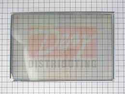 ge range oven stove inner door glass