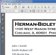 How To Letter Head Creating Pdf For Digital Letterheads