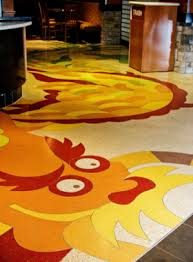 dragon floor at yan can cook in the san go airport