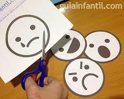 caritas para aprender las emociones