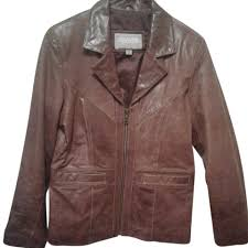wilsons leather brown company jacket
