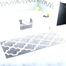 yellow gray bath rugs