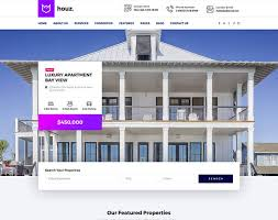 real state template houz the best real estate html template by trendy theme