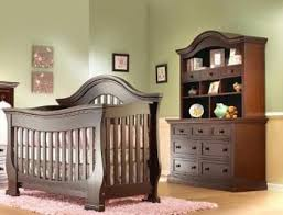 nice furniture baby crib nursery sets best collection wooden ponent drawers bedding brown color