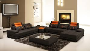 living room ideas with black sectionals. Furniture:Living Room Design Chic Black Leather Sectional For Elegant In Furniture Winsome Images Sofa Living Ideas With Sectionals