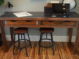 rustic desk home office. Desks Rustic Furniture Clearance Western Office Industrial Style Home Grey Desk H