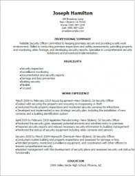 Security Officer Resume Fascinating Download Our Sample Of 28 Security Officer Resume Sample Apply It