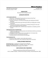 Resume Objective Customer Service Resume Objective Samples 69