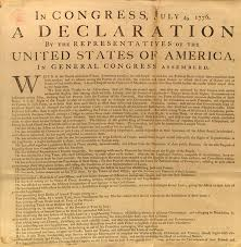 declaration of independence for kids  declaration of independence