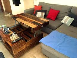 easy diy lift top coffee table