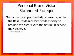 my vision statement sample 8 personal brand statement examples sql print statement