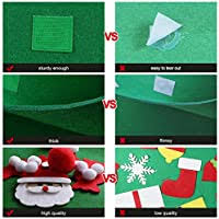 AerWo 3FT <b>DIY Felt Christmas</b> Tree Set with 26 Detachable ...