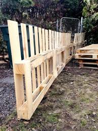 Gated Garden Fence With Trellises  This tutorial is so detailed and the  fence design is a great design! They built this entire fence in a few  hours, ...