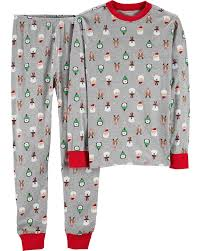 2 Piece Adult Christmas Cotton Pjs Carters Com