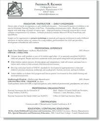Example Of Teacher Resume Simple Education Sample Resume Elementary Teacher Sample Resume New