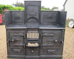 antique reclaimed victorian cast iron kitchen range this is absolutely beautiful