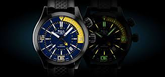 ball engineer master ii diver. check out ball watch co.\u0027s new engineer master ii diver series ball ii