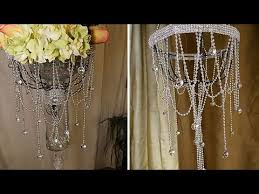 diy dollar tree chandelier and wedding decorations