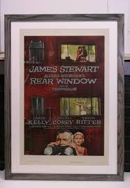 vintage poster framed to conservation standards