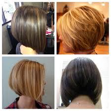 Graduated Bob Hairstyles Graduated Bob Haircut Front And Back Views Haircut Get Free