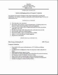 computer technician resume examplessamples free edit with word pertaining  to 15 charming repair job description -