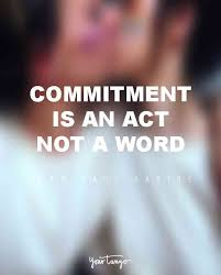 Commitment Quotes Inspiration 48 Famous Inspirational Quotes About Love Commitment YourTango
