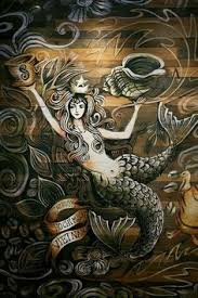 starbucks original mermaid wall of the first starbucks store in vietnam opened feb on starbucks wall artwork with 31 best starbucks my adiction images on pinterest background