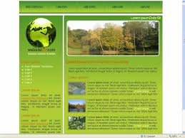 css template green two column css template by two column eco friendly css web template