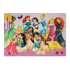 4 ft 6 in x 6 ft 6 in princess party indoor