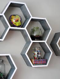diy tutorial how to make wood honeycomb shelves why spend hundreds