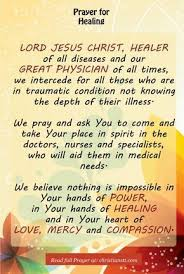 Christian Prayer For Healing Quotes Best of Prayer Healing Of Brain Tumor Pinterest Healing Prayer