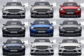 Nexa Auto Color Chart Colour Guide How Much Difference Does Colour Make To A Mercedes C Class