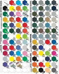 Tamiya Lacquer Paint Chart Tamiya Colours Chart Google Search Miscellaneous Paint