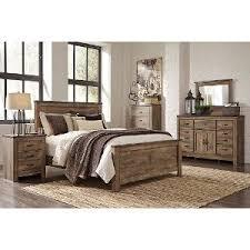 contemporary king bedroom set. rustic casual contemporary 6 piece king bedroom set - trinell