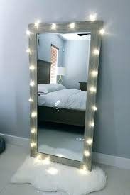 lighted wall mirror. wall ideas : lighted makeup mirror mounted hardwired 6